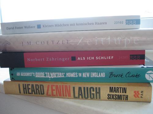 Frisches Buch-Catering eingetroffen!