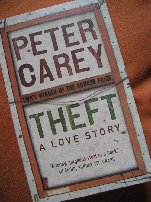 Peter Carey: Theft
